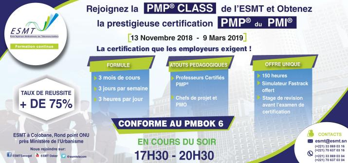 PMP CLASS SESSIONS 2018 2019
